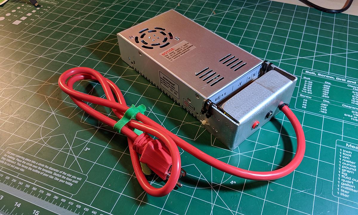 DIY 12V Power Supply - HobbyTrap